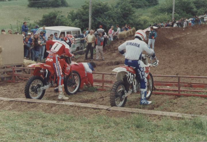 Yves Demaria 125 Inter 1988 la carrire de JeanMichel Bayle