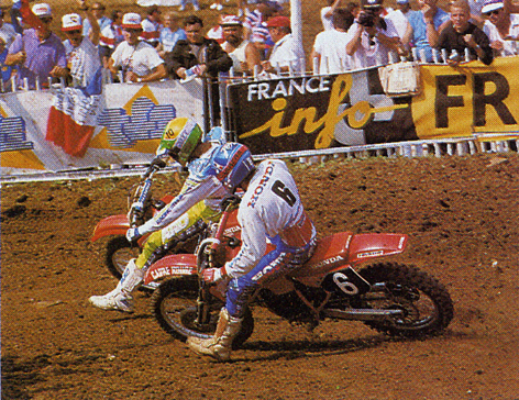 motocross des nations 1988 la carri re de jean mic hel bayle. Black Bedroom Furniture Sets. Home Design Ideas